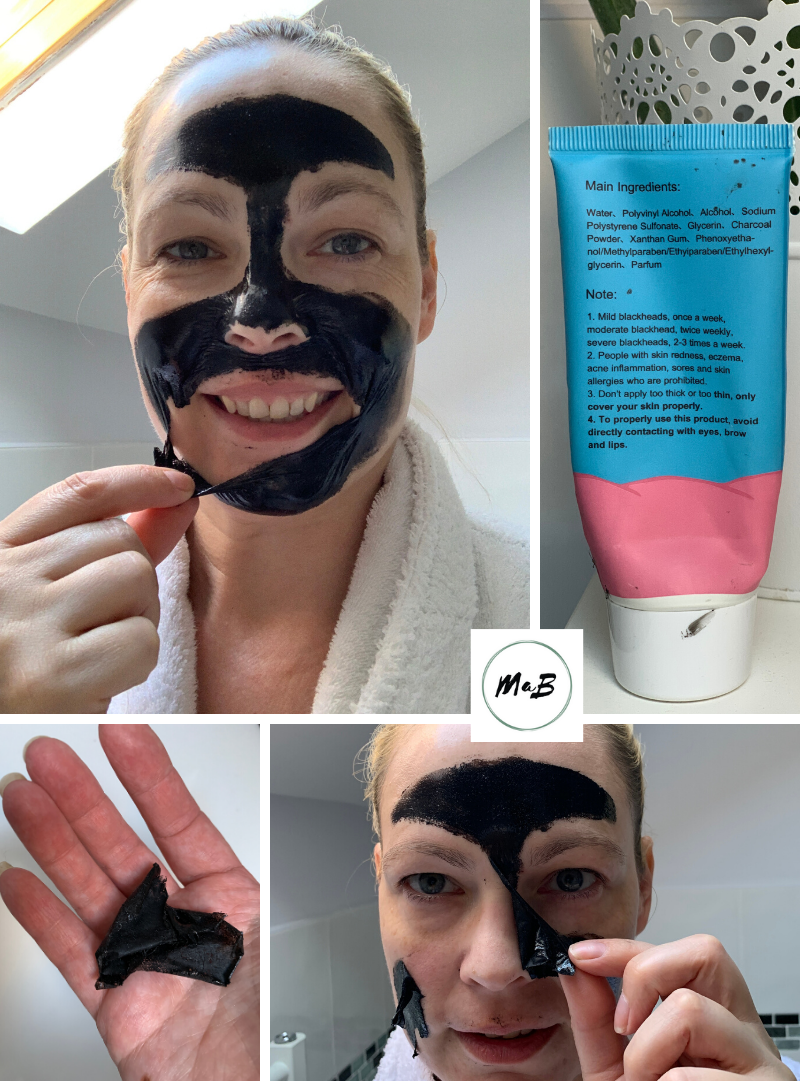 Peeling Black Mask Review Middle Age Skin