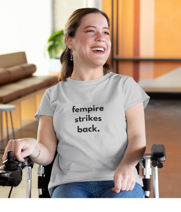 Fempire strikes back - tshirt tee