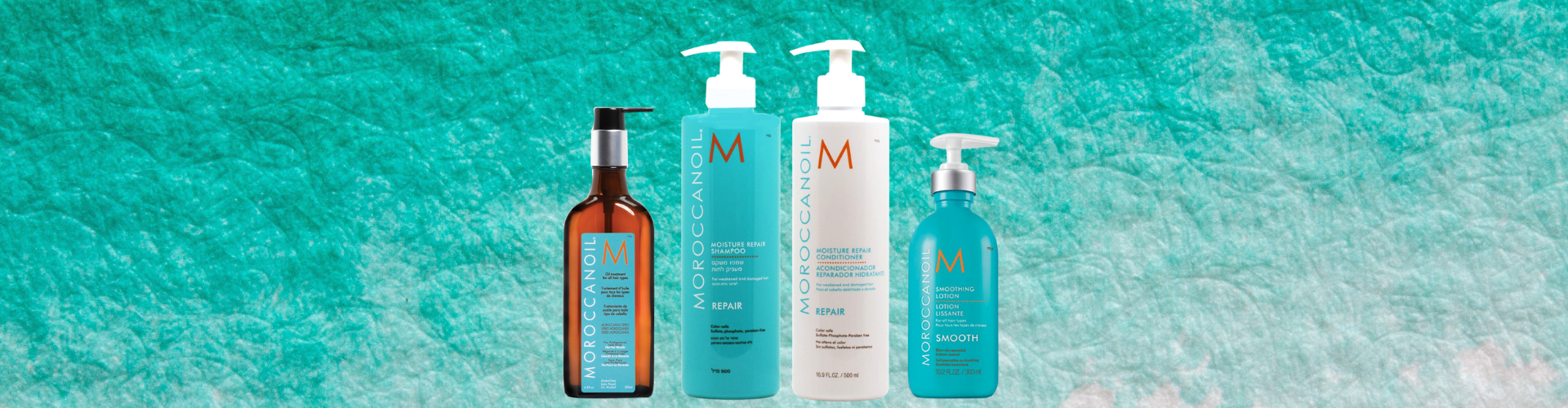 Moroccanoil hair care routine review
