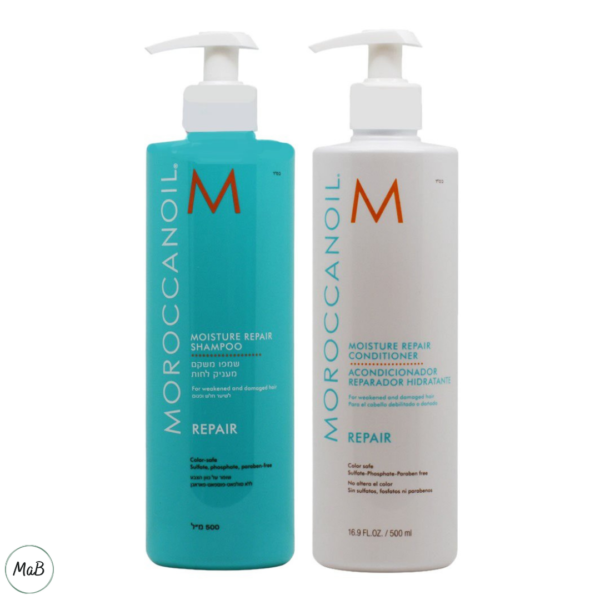 Moroccanoil repair shampoo and conditioner review